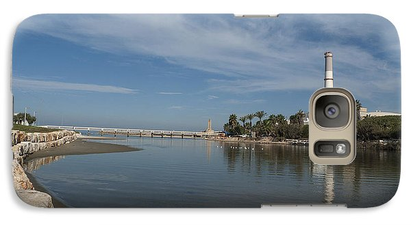 Galaxy Case featuring the photograph Tel Aviv Old Port 1 by Dubi Roman