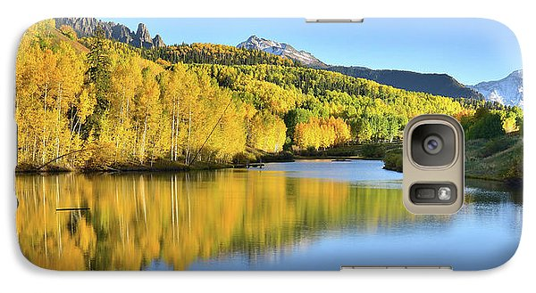 Galaxy Case featuring the photograph Telluride Mountain Lake by Ray Mathis
