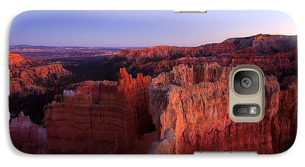 Desert Galaxy S7 Case - Temple Of The Setting Sun by Mike  Dawson