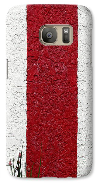 Galaxy Case featuring the photograph Temple Wall by Ethna Gillespie
