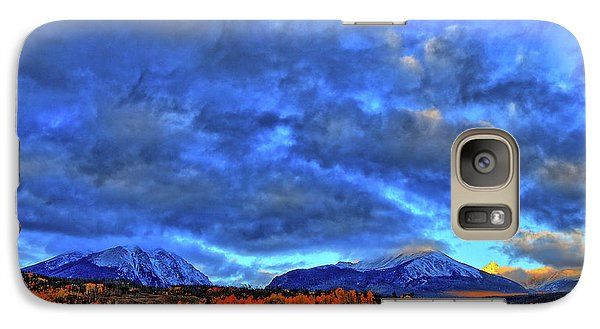 Galaxy Case featuring the photograph Ten Mile Of Fall Colors by Scott Mahon
