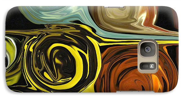 Galaxy Case featuring the digital art Tendrils by Mary Bedy