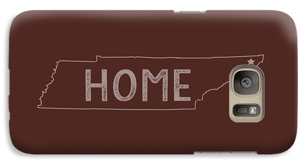 Galaxy Case featuring the digital art Tennessee Home by Heather Applegate