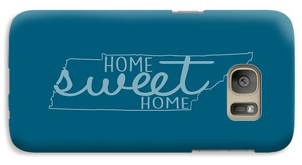 Galaxy Case featuring the digital art Tennessee Home Sweet Home by Heather Applegate