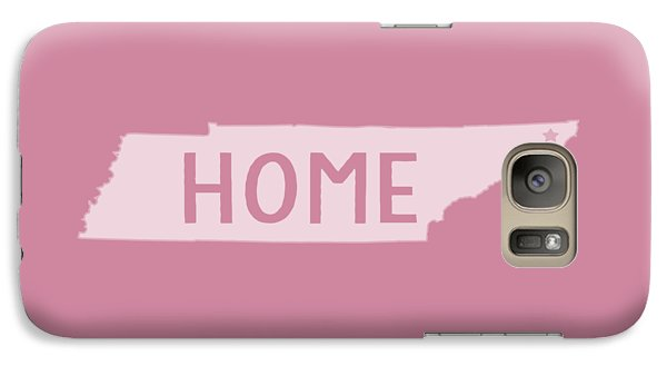 Galaxy Case featuring the photograph Tennessee Home White by Heather Applegate