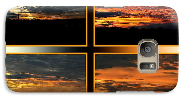 Galaxy Case featuring the photograph Tennessee Sunset by EricaMaxine  Price