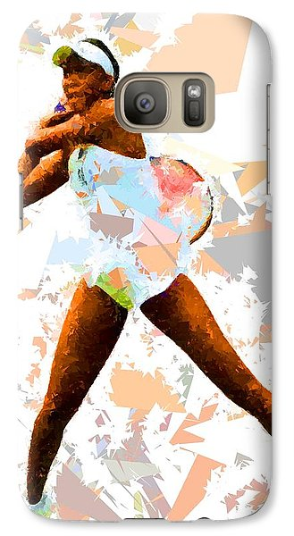 Galaxy Case featuring the painting Tennis 113 by Movie Poster Prints