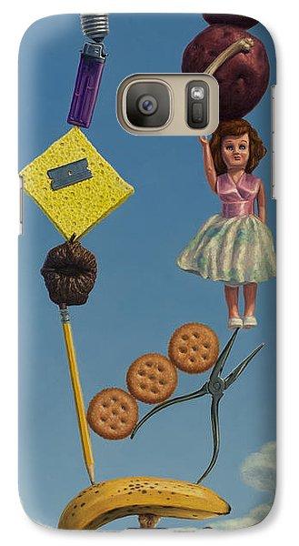 Banana Galaxy S7 Case - Tenuous Still-life 2 by James W Johnson