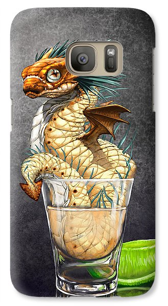 Dragon Galaxy S7 Case - Tequila Wyrm by Stanley Morrison