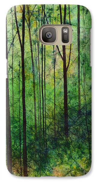 Galaxy Case featuring the painting Terra Verde by Hailey E Herrera