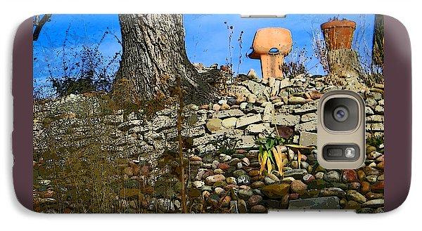 Galaxy Case featuring the photograph Terraced Garden 5 by Lenore Senior