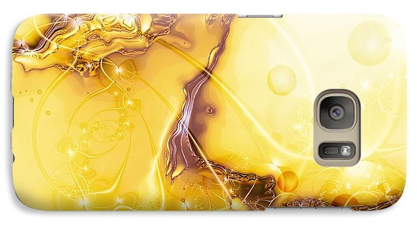 Galaxy Case featuring the digital art Terrain Of The Sun by Michelle H
