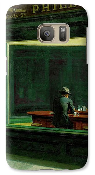 Galaxy Case featuring the photograph Test Tavern by Edward Hopper