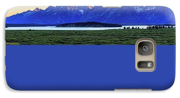 Teton Sunset Galaxy S7 Case by David Chandler
