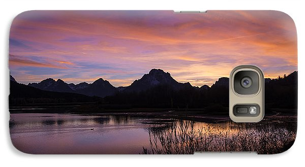 Teton Sunset Galaxy S7 Case