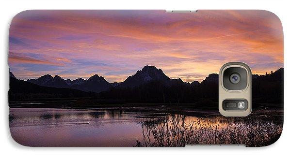 Teton Sunset Galaxy S7 Case by Gary Lengyel