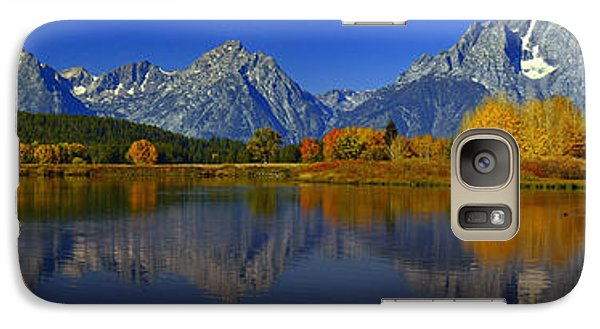 Tetons From Oxbow Bend Galaxy S7 Case