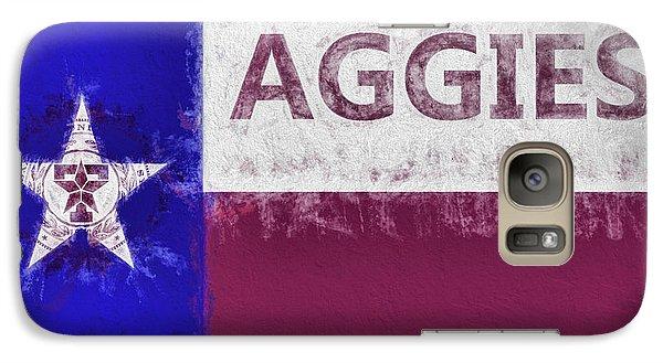 Texas Aggies State Flag Galaxy S7 Case