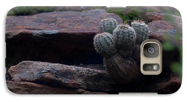 Galaxy Case featuring the photograph Texas Hill Country Cactus  by Travis Burgess