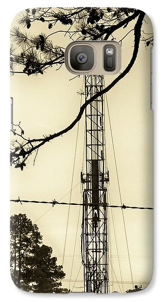 Galaxy Case featuring the photograph Texas Tea by Betty Northcutt