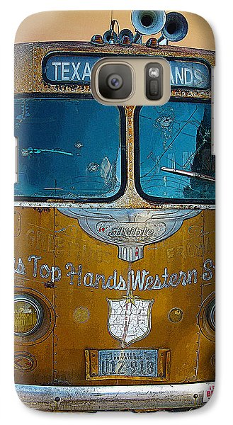 Galaxy Case featuring the photograph Texas Top Hands by Jim Mathis