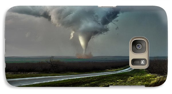 Galaxy Case featuring the photograph Texas Twister by James Menzies