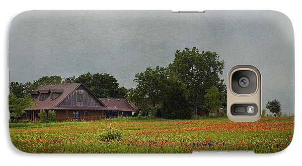 Galaxy Case featuring the photograph Texas Wildflowers by Elena Nosyreva