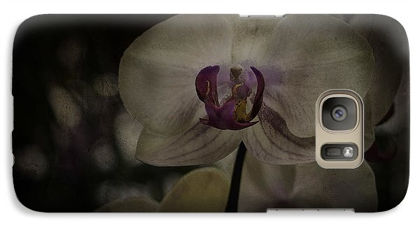 Galaxy Case featuring the photograph Textured Flower by Ryan Photography