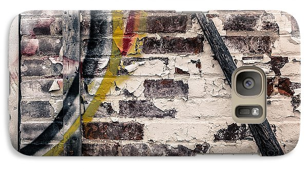 Galaxy Case featuring the photograph Textures Are Talking  by Lora Lee Chapman