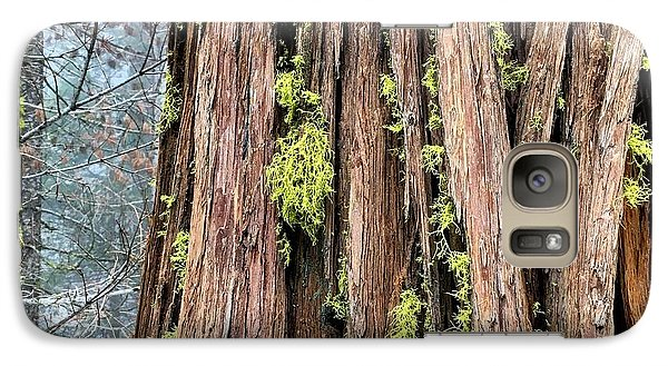 Galaxy Case featuring the photograph Texturing by Paul Foutz
