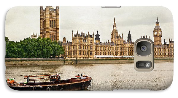 Galaxy Case featuring the photograph Thames by Keith Armstrong