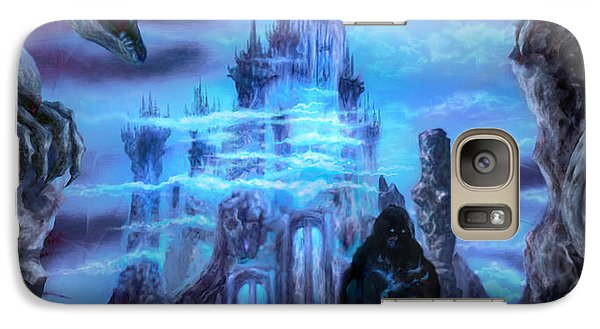 Galaxy Case featuring the mixed media Thangorodrim by Curtiss Shaffer