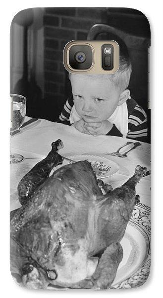 Thanksgiving Dinner Galaxy S7 Case by American School