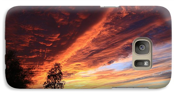 Galaxy Case featuring the photograph Thanksgiving Sunset by Gary Kaylor