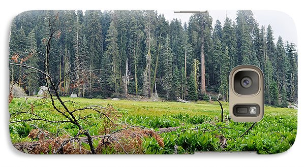 Galaxy Case featuring the photograph Tharps Log Meadow by Kyle Hanson