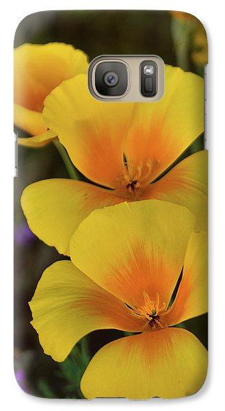 Galaxy Case featuring the photograph That Golden Spring Glow  by Saija Lehtonen