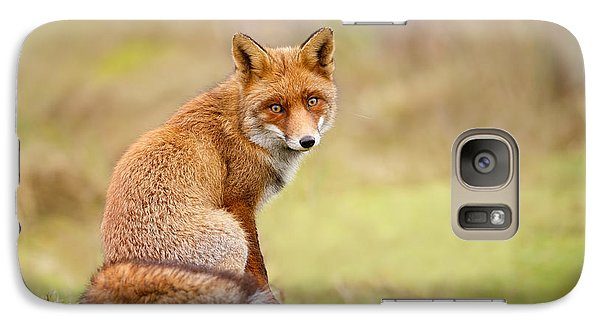 That Look - Red Fox Male Galaxy S7 Case