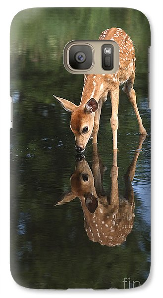 That Must Be Me Galaxy Case by Sandra Bronstein