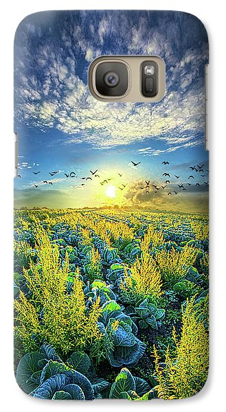 That Voices Never Shared Galaxy S7 Case by Phil Koch