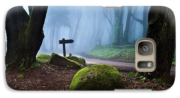 Galaxy Case featuring the photograph That Way by Jorge Maia