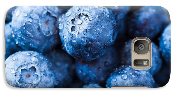 Galaxy Case featuring the photograph That's The Blues by Yvette Van Teeffelen
