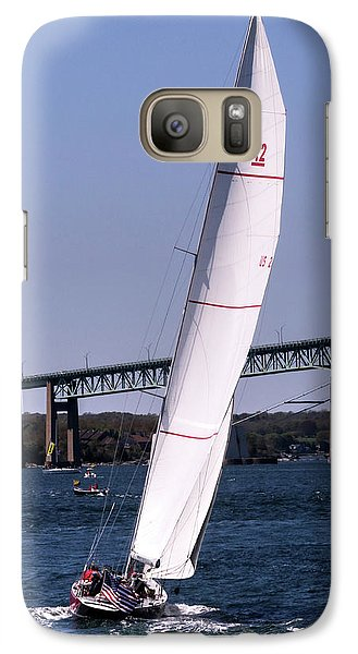 Galaxy Case featuring the photograph The 12 Newport Rhode Island by Tom Prendergast