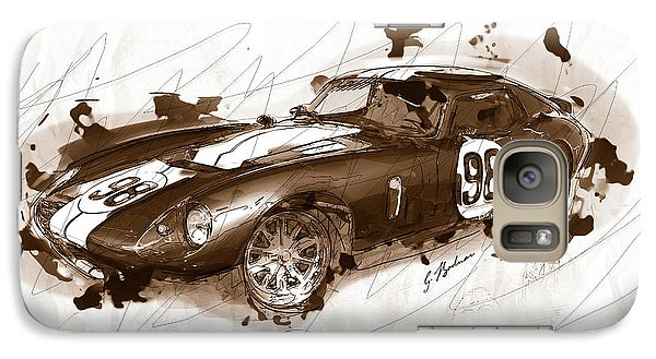 The 1965 Ford Cobra Mustang Galaxy S7 Case