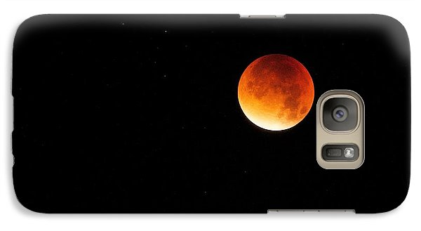 Galaxy Case featuring the photograph The 2015 Blood Moon  by Gary Bridger