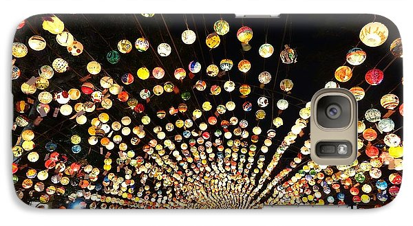 Galaxy Case featuring the photograph The 2017 Lantern Festival In Taiwan by Yali Shi