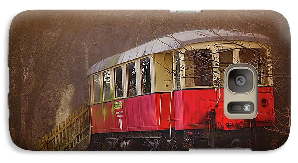 Galaxy Case featuring the photograph The Abandoned Tram In Salzburg Austria  by Carol Japp