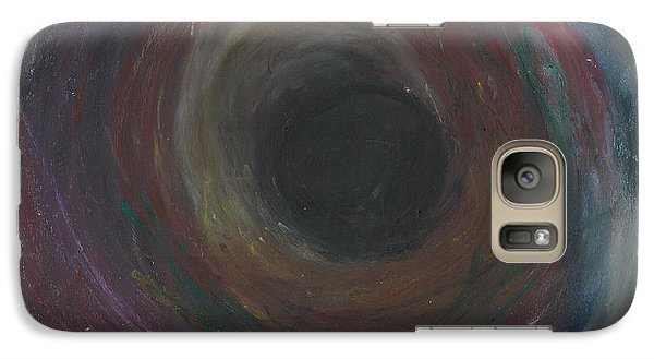Galaxy Case featuring the pastel The Abyss  by Ania M Milo