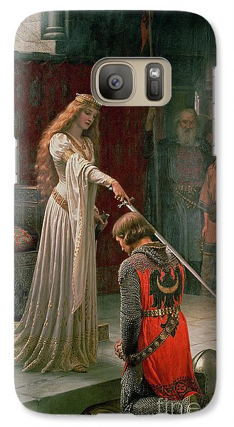 The Accolade Galaxy Case by Edmund Blair Leighton