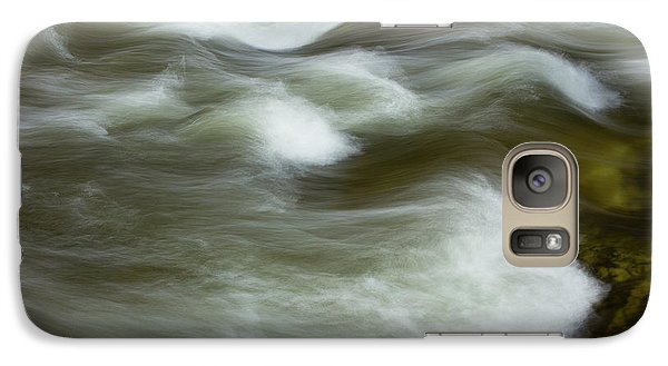 Galaxy Case featuring the photograph The Action On Top by Mike Eingle