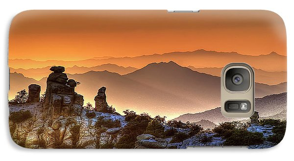 Galaxy Case featuring the photograph The Ahh Moment by Lynn Geoffroy